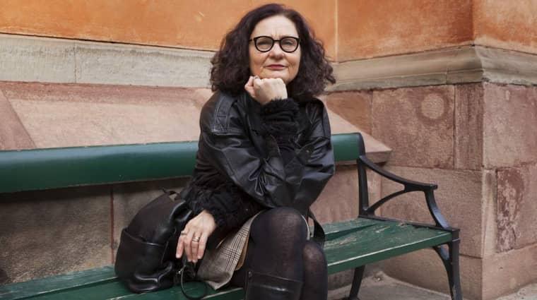 BESUTTEN SKRIBENT. Ebba Witt-Brattström bemötte Victor Malms kritik med ett akademiskt underkännande. Foto: Kristoffer Wikström