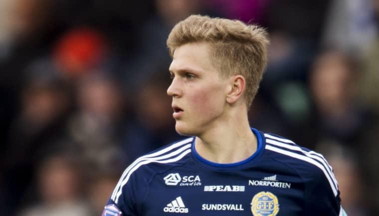 Joakim Nilsson i GIF Sundsvall Foto: Nils Jakobsson