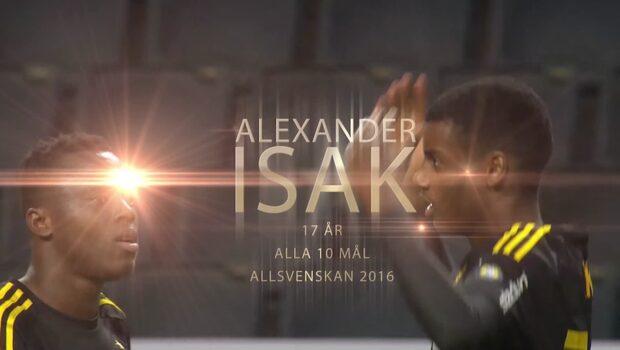 Highlights: Alexander Isaks alla allsvenska mål