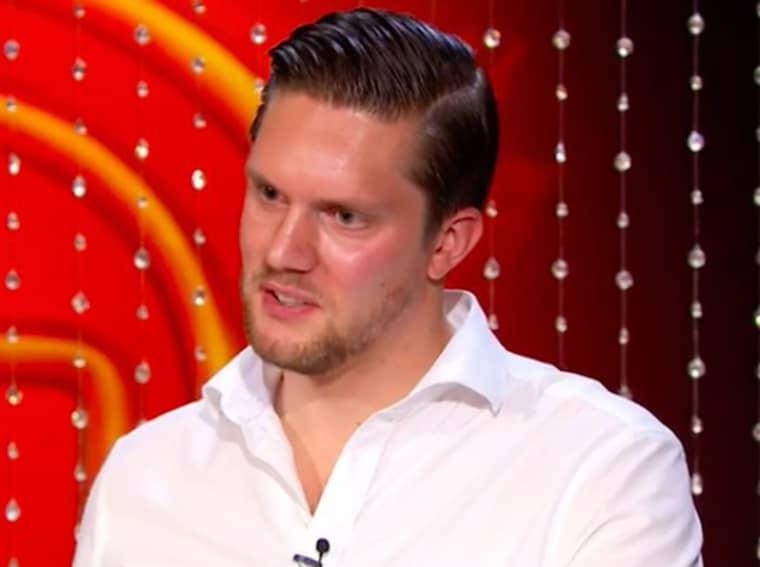 """Odd Spångberg gör allt annat än succé i premiären av TV4-programmet """"Sveriges mästerkock"""" Foto: TV4"""
