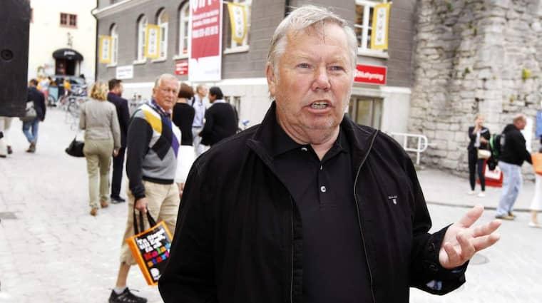 Bert Karlsson har begärt ett möte på regeringskansliet där han ska diskutera kostnaden för ensamkommande flyktingbarn. Foto: Cornelia Nordström