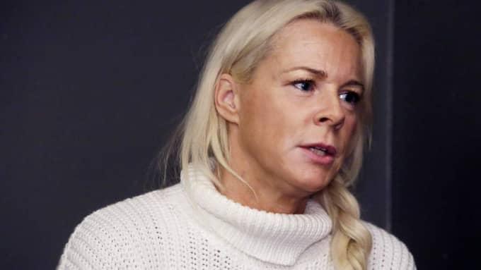 Malena Ernman svar om varför det var nödvändigt med id-kontroller vid Skansens scen. Foto: Cornelia Nordström
