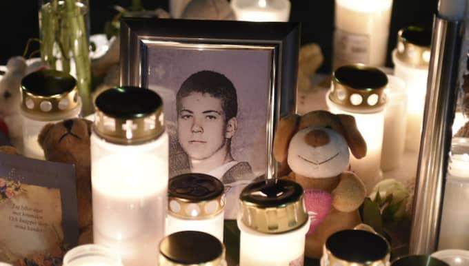 Arminas Pileckas, 15, knivhöggs till döds på måndagen på Göingeskolan. Foto: Tomas Leprince