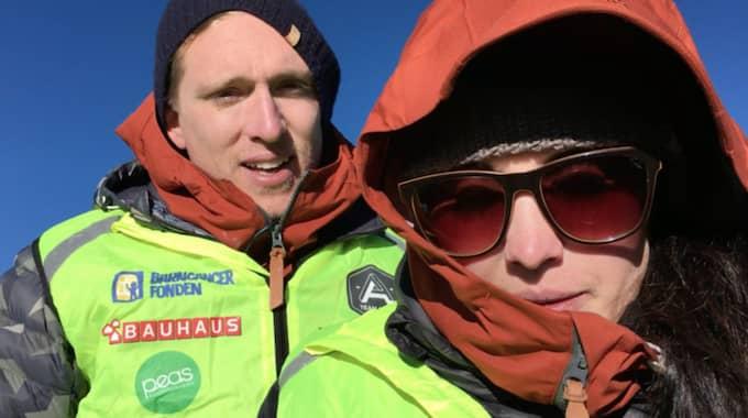 Danny Saucedo och Molly Sandén besteg Kilimanjaro tillsammans.