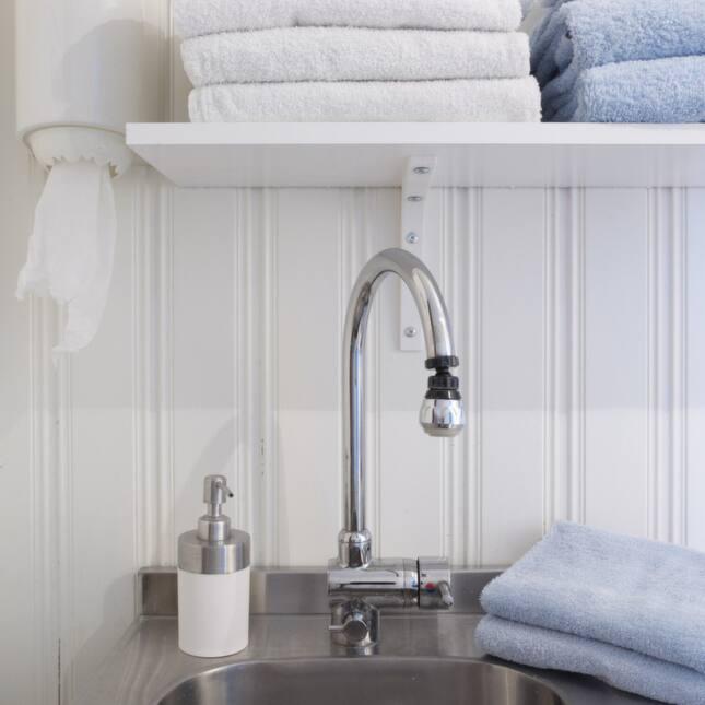Lantligt och praktiskt badrum Leva& bo Expressen