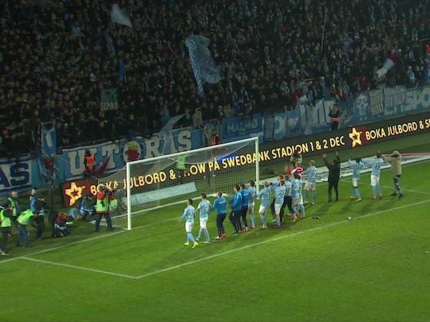 Highlights: Malmö-Hammarby 3-0