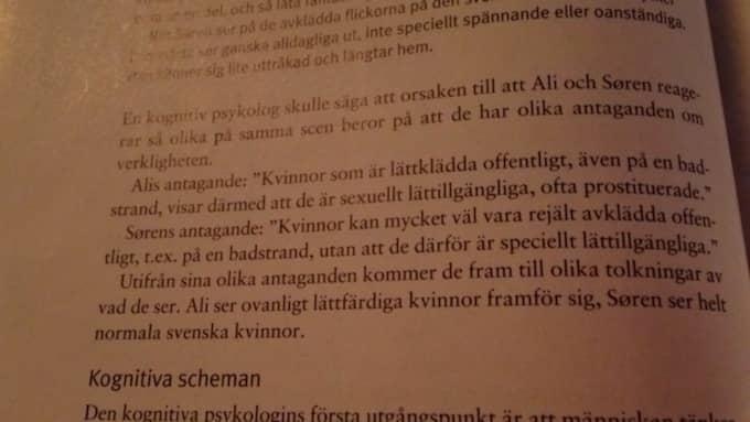 """""""Det är ett klumpigt exempel som vi inte tycker är lämpligt"""", säger Magnus Wetterberg, rektor på Stadsmissionens folkhögskola. Foto: Privat"""