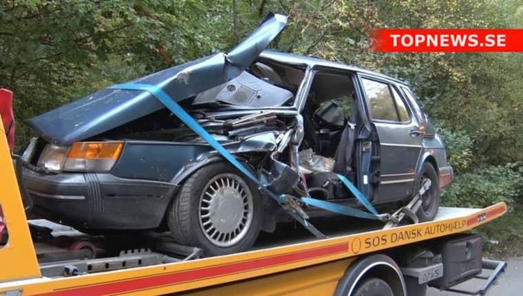 Det äldre paret hade inte en chans när 24-åriga vansinnesbilisten kom körandes. När han körde rakt in i deras bil med sin van dog de direkt. Nu döms han till fängelse.