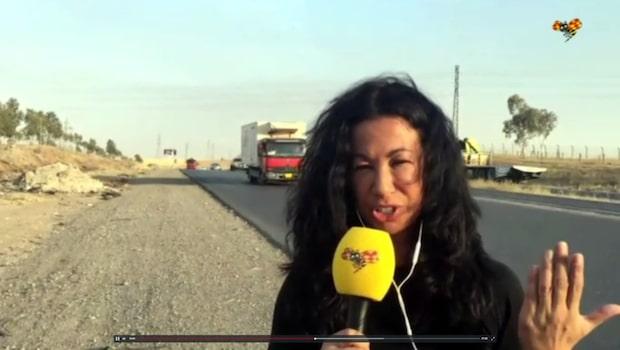 """Magda Gad från Mosul: """"Vår konvoj sköts från både vänster och höger"""""""
