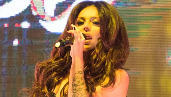 Little Mix-stjärnan Jesy Nelson har skadat sig illa under gruppens turne. Foto: Polly Thomas/Rex/Shutterstock / POLLY THOMAS/REX/SHUTTERSTOCK REX FEATURES
