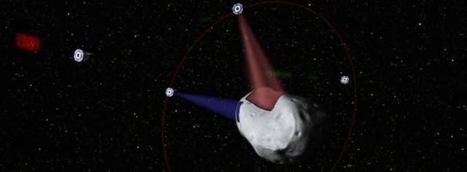 Det amerikanska företaget vill utvinna värdefulla metaller på asteroider. Foto: Planetary Resources / Epa / Scanpix