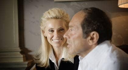 Anna Anka är gift med sångaren Paul Anka och lever glamouröst hemmafruliv i Hollywood. Foto: Jonas Eriksson