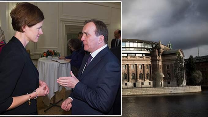 Anna Kinberg Batra måste skaffa en politik som går att regera på. Annars går det för alliansen som för Stefan Löfven. Foto: Sven Lindwall och Ylwa Yngvesson