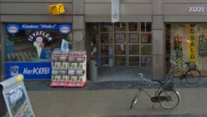 Här köpte mannen lotten som var värd fem miljoner kronor. Foto: GOOGLE MAPS