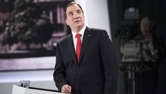 Stefan Löfven och Social-demokraterna har sitt lägsta stöd sedan 2012. Foto: Olle Sporrong