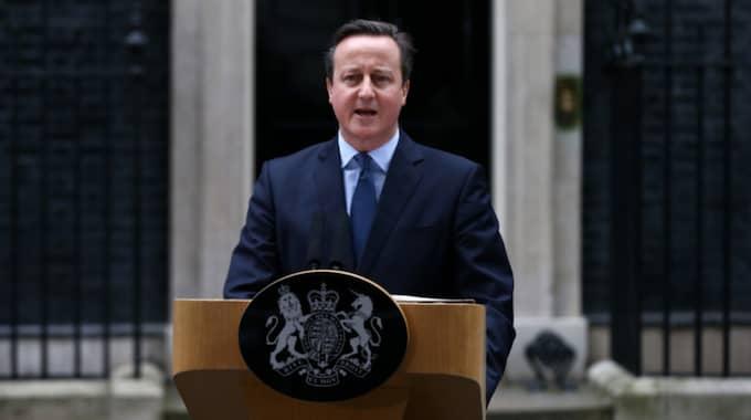 Storbritanniens premiärminister David Cameron meddelade på lördagen att landet ska folkomrösta om fortsatt EU-medlemsskap. Foto: Carl Court