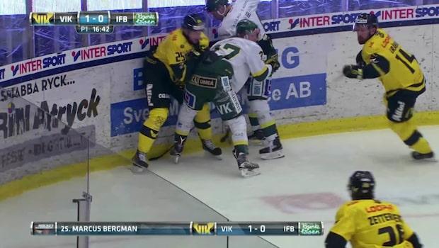 HIGHLIGHTS: Västerås-Björklöven 2-0