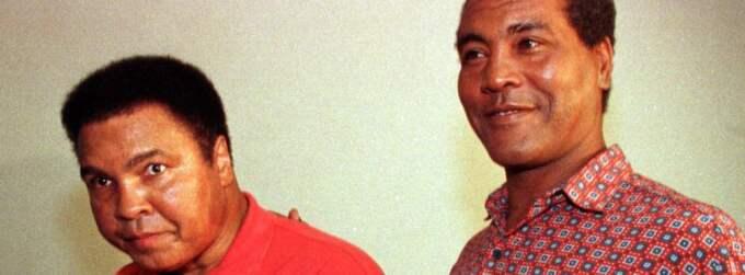 Muhammad Ali och Teofilo Stevenson tillsammans från 1998. Foto: AP