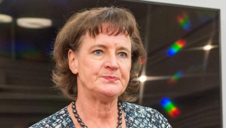I videon visar sig Annelie Nordström som stridslysten och hon avfärdar kraven på sin egen avgång med att hon är förtroendevald av Kommunals kongress 2013. Foto: Pelle T Nilsson
