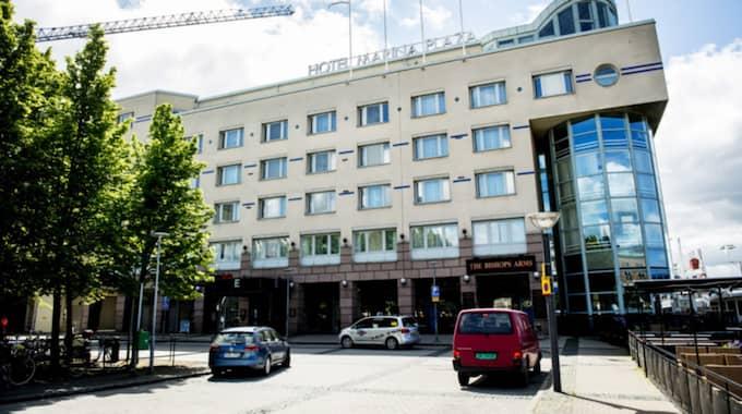 Den 16-åriga flickan dog under strypsex på hotell Marina Plaza i Helsingborg i somras. Foto: Christian Örnberg