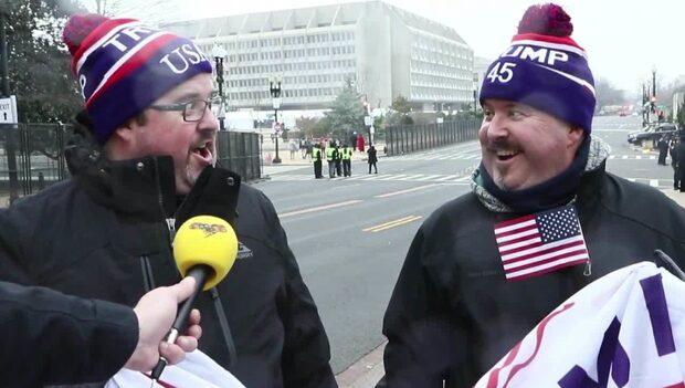 """Trump-supportrarna efter installationen: """"Han kommer tänka på folket"""""""