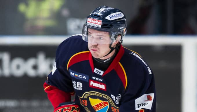 Marcus Högström kan vara förlorad för Djurgården och SHL. Foto: Andreas L Eriksson
