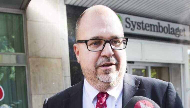 LO-ordföranden Karl-Petter Thorwaldsson. Foto: Alexander Donka