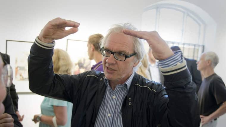 Lars Vilks kommer till Folkets hus på torsdag. Foto: Rickard Nilsson
