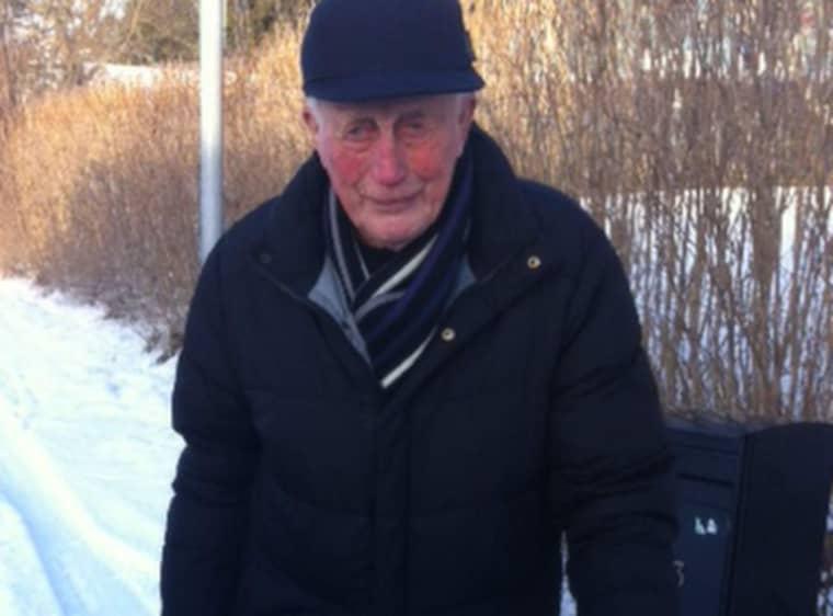 Erik Carreman, 93, får inte plats på äldreboendet.