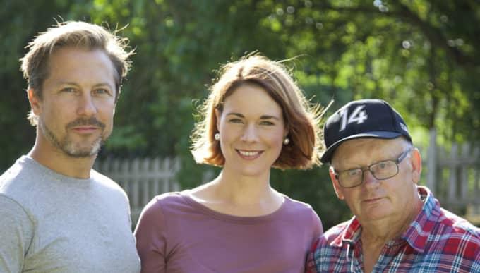 """I kvällens avsnitt av """"Bygglov"""" medverkar familjen Granlund i Ockelbo. Men efter inspelningen i somras har mamman Ansofie avlidit i sviterna av cancer. Foto: Martin Wanngard"""