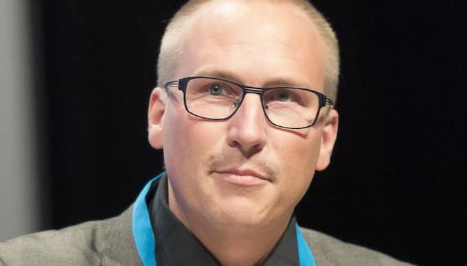 Sverigedemokraten Mikael Eskilandersson, distriktsordförande Syd. Foto: Roger Vikström