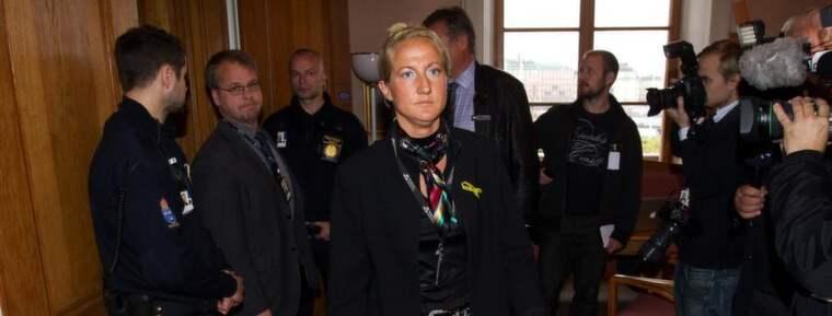 """Beslutet att välja Cecilia Widegren som ordförande i beredningen har kritiseras. """"Hon saknar sakkunskap på området och vill därför helst prata så lite som möjligt om försvarsmakten"""", säger en uppgiftslämnare. Foto: Sven Lindwall"""