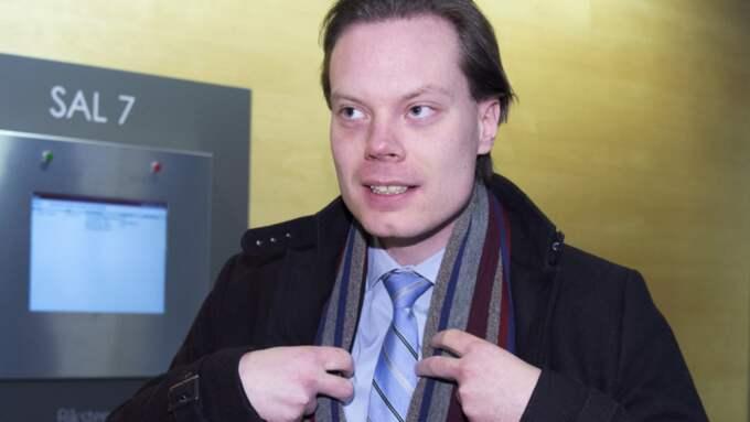 Åklagaren yrkar på fängelse i ett och ett halvt år för Martin Kinnunen för grovt skattebrott och grovt bokföringsbrott. Foto: Sven Lindwall