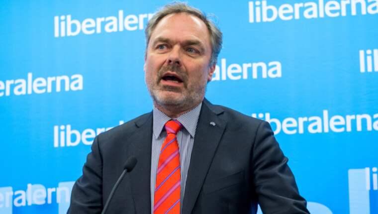 Liberalernas partiledare Jan Björklund. Foto: (C) Pelle T Nilsson