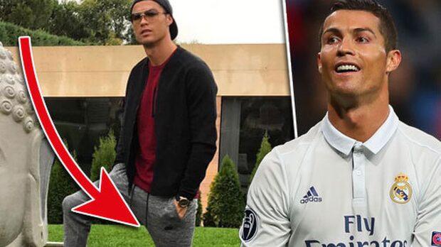 Bilden får tusentals att rasa mot Ronaldo