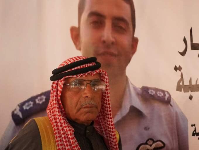 Safi al-Kasasbeh beskriver ögonblicket då han såg videon med mordet på sonen Moaz som det svåraste i hans liv.