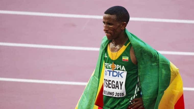 Aregawis pojkvän Yemane Tsegay Foto: Nils Petter Nilsson