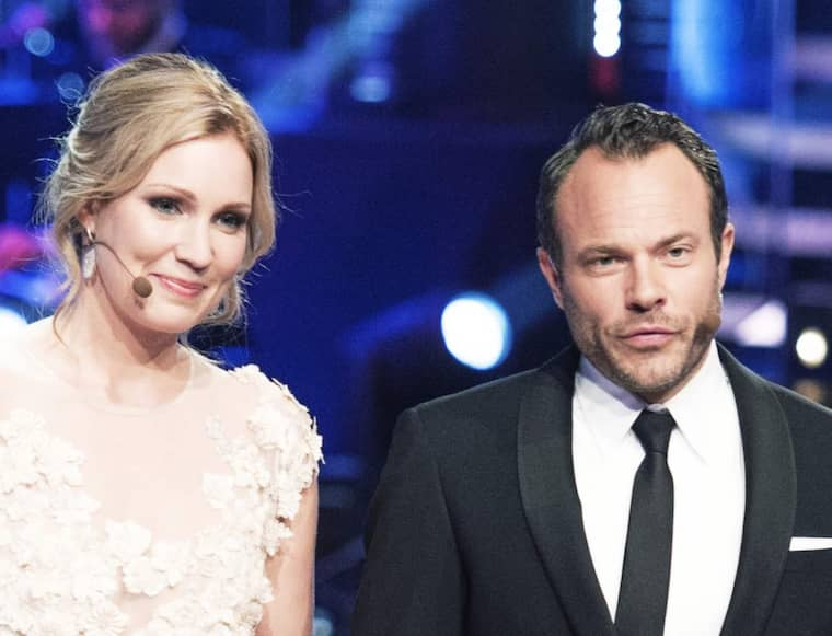 "David Hellenius leder ""Let's dance"" med Jessica Almenäs i TV4. Foto: Olle Sporrong"