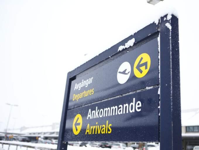 Landvetters flygplats.
