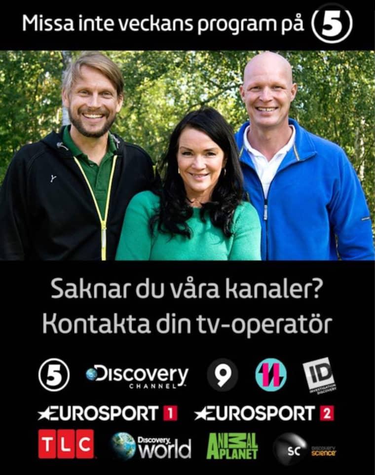 Kanal 5 ber om ursäkt efter en tv-annons i bråket.