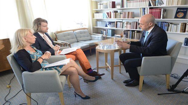 Fredrik Reinfeldt: Det är enda sättet att ta ansvar
