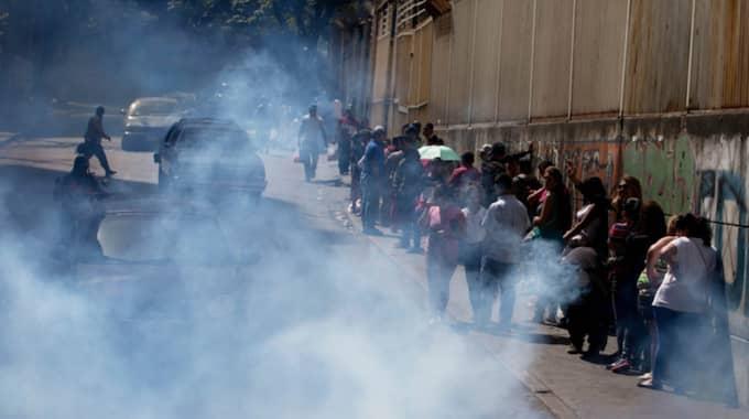 Caracas i Venezuela. Foto: Fernando Llano
