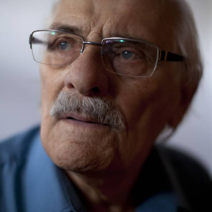 Samuel Willenberg, den sista överlevaren från det nazistiska koncentrationslägret Treblinka, har enligt AP avlidit. Foto: Oded Balilty/AP