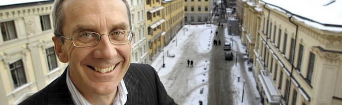 """""""Vård är en industri som passar oss som långsiktiga ägare väldigt väl"""", säger Lennart Johansson, ansvarig för operativa investeringar på Investor. Foto: Gunnar Lundmark / Svd / Scanpix"""