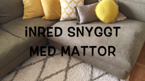 Inred snyggt med mattor