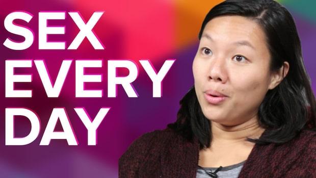 Parens utmaning: Hade sex varje dag i en hel månad