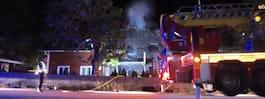 Familj tvingades fly misstänkt mordbrand
