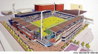 Så här ska nya arenan se ut.