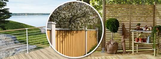 10 snygga staket för hus och uteplats Leva& bo