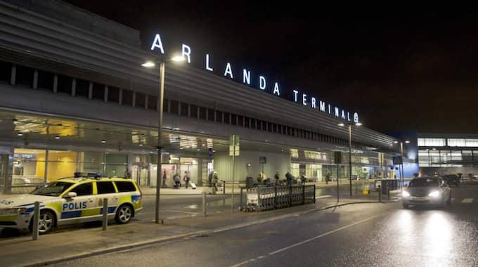 All flygtrafik till och från södra Sverige – Arlanda, Landvetter och Bromma inräknade – står stilla. Foto: Lisa Mattisson